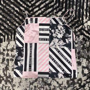 Victoria Secret Floral Satin PJ Set